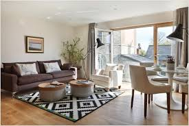 image of black and white rugs area