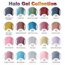 Gel Len New Arrival Halo Gel Polish 20 Colors Nails Art