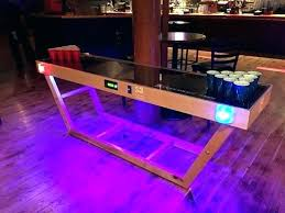diy pong table infinity table beer pong table how long is a beer pong table led
