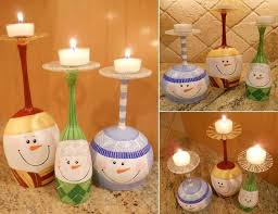 How to Make Adorable DIY Painted Wine Glass Candle Holder