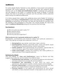 is reality television essay what is reality television essay