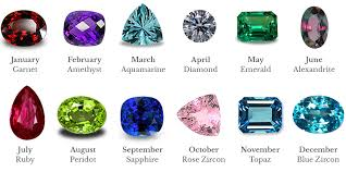 Birthstone Gemstone Chart Birthstones Are Gems We Can All Appreciate What Gem Is Your