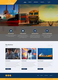 Cargo Web Design Shipping And Cargo Website Design