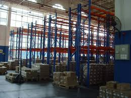 Powder Coating Racks Suppliers Powder Coating Double Deep Pallet Rack Antirust 100KG for Factory 57