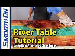woodworking epoxy rivertable