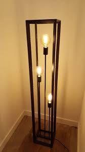 Industrieel Vloerlamp Kleur Zwart