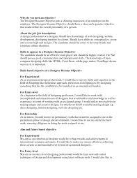 Interior Design Resume Objective Graphic Design Resume Objective Fiveoutsiders 19