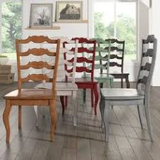 for eleanor french ladder back wood dining chair set of 2 by inspire