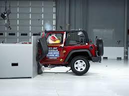 2018 jeep wrangler 2 door driver side small overlap iihs crash test you
