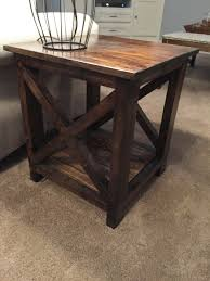 wood end tables. Here\u0027s An Idea For Simple End Tables That You Can Make Yourself Cheap! We Wood