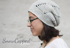 Slouch Hat Crochet Pattern Awesome Slouch Hat Crochet Pattern PDF The Snowdrift Slouch Hat Etsy