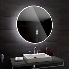 Delhi Delhi Delhi Rund Badspiegel Mit Led Beleuchtung Wandspiegel
