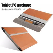 for lenovo yoga book leather cases in one tablet package 10 1 inch sleeve high quality clic