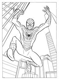 Free Printable Spiderman Coloring Pages For Kids Noni And