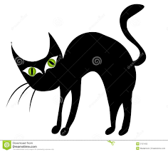 scared black cat clipart. Beautiful Clipart Scared Black Cat And Spider Clipart 1 Intended H