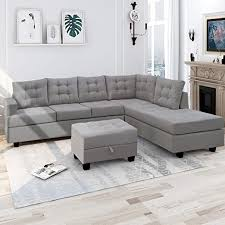 sectional sofa with chaise ottoman