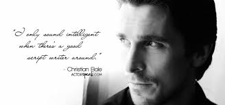 WALLPAPER: Christian Bale Quote On Acting With Photo | ActorSpeak.com