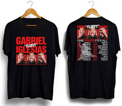 New Stand Up Comedy Gabriel Iglesias Tour 2 Dates 2018 Black T Shirt All Size Funny T Shirts Online Hilarious T Shirts From Thecooltshirt 13 19