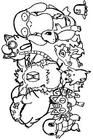 Pokemon Kleurplaten Kleuren