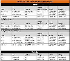 Rubies Costume Size Chart Rubies Costume Co Boys Minion Stuart Costume