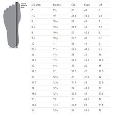 Under Armour Mens Size Guide