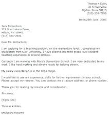 Cover Letter For Teaching Assistant Cover Letter Examples For Teaching Teacher Cover Letter Examples