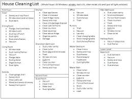 Household Chores Checklist Template For Resume Word House Cleaning List  Format . Household Chore Chart Template Dividing Chores Schedule Checklist  ...
