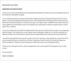 Sample Cover Letter For Promotion Internal Puentesenelaire Cover