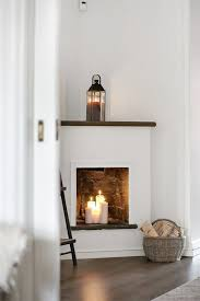 Decorating: Rustic Candle Fireplace Design - Fireplaces