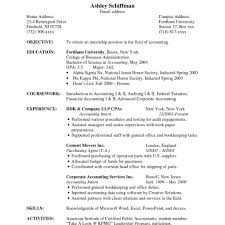 Accounting Resume Samples Sample Resume Accounting Accounting Clerk Resume Sample Accountant 54