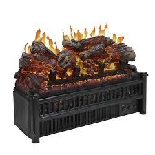 electric fireplace log heater
