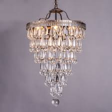 chandelier lighting ceiling antique style crystal raindrop retro modern light fixtures drops chandeliers lamp