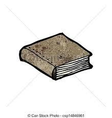 closed book cartoon csp14846981