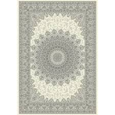 dynamic rugs ancient garden cream grey 9 ft 2 in x 12 ft