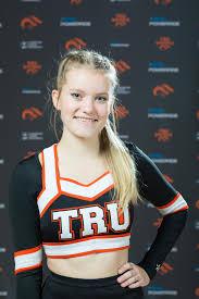 Ava Johnson - Cheerleading - Thompson Rivers University