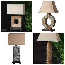 outdoor rated table lamps from uttermost