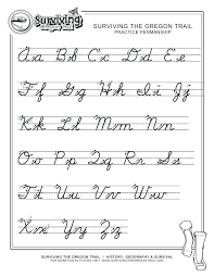 Cursive Letters Sheet Cursive Letters Tracing Sheets Cursive