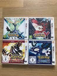 3DS Games Pokemon X, Y, Alpha Saphir, Omega R in 9015 Sankt Gallen für  20,00 CHF zum Verkauf