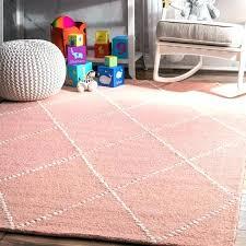 pink and gray rugs for nursery rug the barn big handmade wool trellis baby area grey pink and gray rugs for nursery