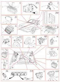 volvo 740 1989 wiring diagrams ez 116k ignition system b234f b204e