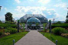nicknamed the green heart of pittsburgh the phipps conservatory botanical gardens