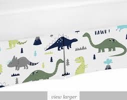 green mod dinosaur baby bedding sets