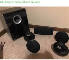 jbl used speakers. jbl cs480 home theater speakers jbl used