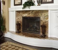 giallo beach granite install fireplace