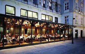 Image result for glass facade restaurant