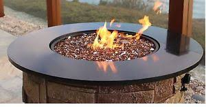 exotic fire glass. Brilliant Glass Image Is Loading ExoticCopperReflectiveTemperedGlassGasFirePit With Exotic Fire Glass H