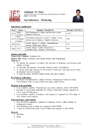 Sample Cv For Graduate School - April.onthemarch.co