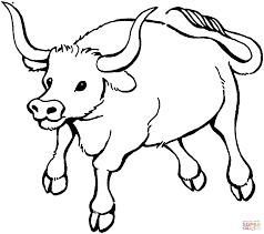 Small Picture Bull 7 coloring page Free Printable Coloring Pages