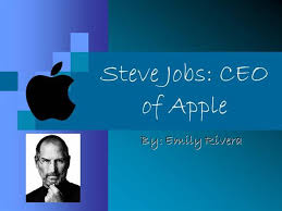 powerpoint biography steve jobs presentation authorstream