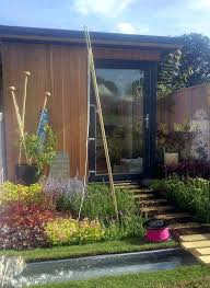Small Picture Small Garden Offices Uk Garden Office Pod By Garden Fortress 1